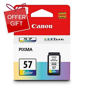CANON CL-57 ORIGINAL INKJET CARTRIDGE TRI-COLOURS