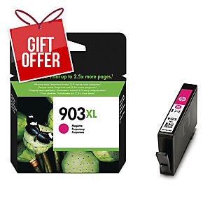 HP 903XL High Yield Magenta Original Ink Cartridge (T6M07AE)