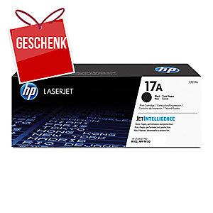 Toner HP CF217A, Reichweite: 1.600 Seiten, schwarz