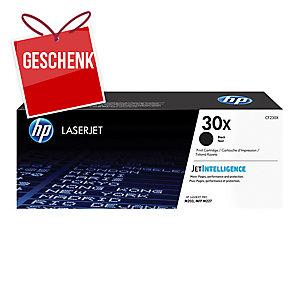 HP Toner für Color LaserJet, CF230X, schwarz, Kapazität: 3500 Seiten