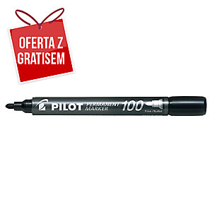 Marker PILOT SCA 100, czarny