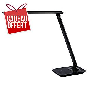 Lampe Aluminor Bob avec port USB - LED - bras flexible - noire