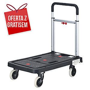 Wózek magazynowy SAFETOOL, składany, 150 kg