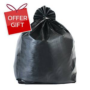 CHAMPION WASTE BAG STAR SEALED 26X34 INCHES PACK OF 20