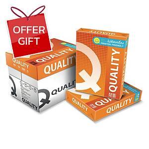 QUALITY ORANGE COPY PAPER A4 70G WHITE 500 SHEETS/REAM - 5 REAMS/BOX