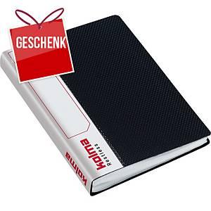 Sichtbuch Kolma Restless 0374219 A6, 40 Taschen, schwarz