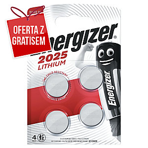 Baterie guzikowe ENERGIZER CR2025, 3V