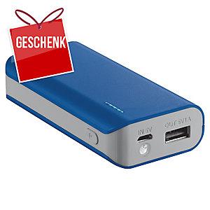 Trust Primo Powerbank 4400 mAh, blau