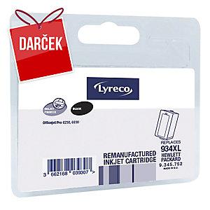 Lyreco kompatibilný cartridge pre HP OfficeJet, C2P23A, čierny, HP kód: 934 XL