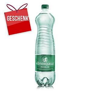 Römerquelle Mineralwasser prickelnd 1,5 l, 6 Stück per Packung