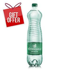 Römerquelle Sparkling Mineral Water, 1.5l, 6pcs