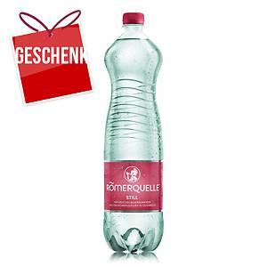 Römerquelle Mineralwasser, still, 1,5 l, 6 Stück