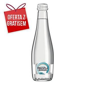 Woda mineralna KROPLA BESKIDU niegazowana, 12 szklanych butelek x 330 ml