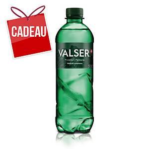 Eau minérale Valser classic, gazéifiée, 50 cl, emballage de 24 bouteilles