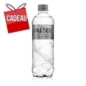 Eau minérale Valser silence sans gaz carbonique, 50 cl, emb. de 24 bouteilles