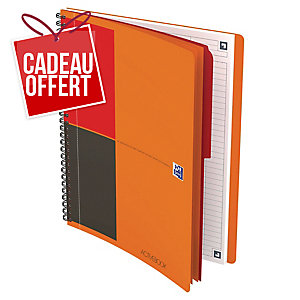 Cahier spirale Oxford Activebook B5 - 160 pages - ligné