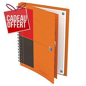 Cahier spirale Oxford Meetingbook B5 - 160 pages - ligné
