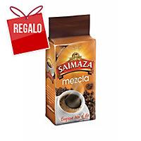 Pack de 250 g de café molido de tueste natural y torrefacto