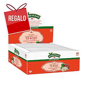 Caja de 100 bolsitas de infusión de té rojo.