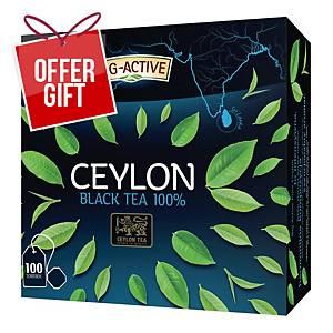 PK100 BIC ACTIVE PURE CEYLON BLACK TEA