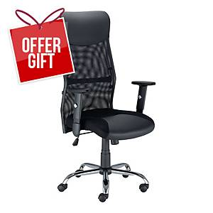 NOWY STYL FLOW CHAIR BLACK