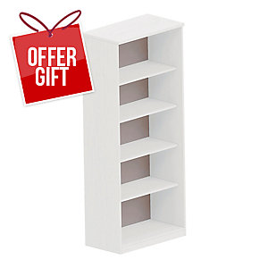 NOWY STYL OFFICE SHELVES 80X189,5 WH