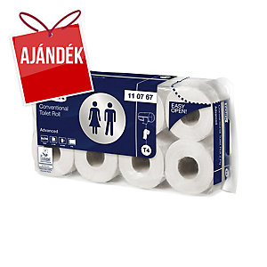TORK 110767 toalettpapír, fehér, 2-rétegű, 64 darab/karton