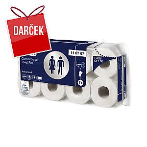 Biely toaletný papier TORK 110767, 2-vrstvový, balenie 64ks