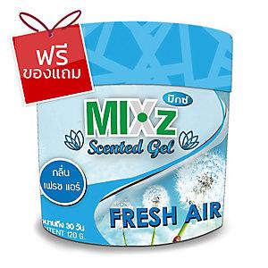 MIXZ เจลหอมปรับอากาศ กลิ่นเฟรชแอร์ 120 กรัม