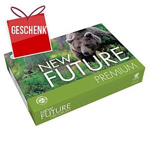 Future Premium Papier, A4, 80 g/m², weiss, 500 Blatt