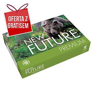 Papier FUTURE Premiumtech A4, w opakowaniu 5 ryz po 500 arkuszy