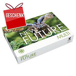 Kopierpapier New Future Multi A4, 80 g/m2, FSC, Packung à 500 Blatt