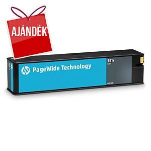 HP tintasugaras nyomtató patron 981Y (L0R13A) ciánkék