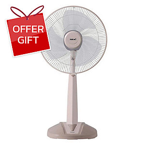 HATARI HB-S16M4 DESKTOP FAN 16 INCHES ASSORTED COLOUR
