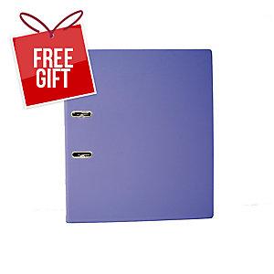 EMI FC Lever Arch File 2 Inches Purple