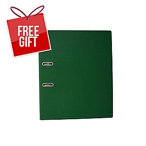 EMI FC 408 Lever Arch File 3 Inches Green