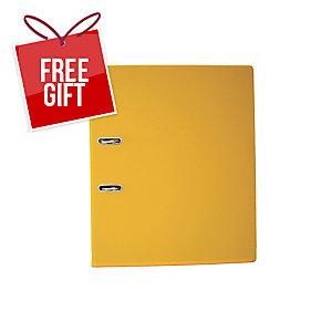 EMI FC 408 Lever Arch File 3 Inches Yellow