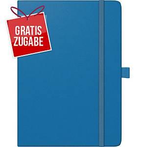 Buchkalender 2020 Brunnen 79166 Kompagnon, 1 Woche / 2 Seiten, A5, blau