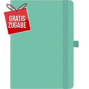 Buchkalender 2020 Brunnen 79166 Kompagnon, 1 Woche / 2 Seiten, A5, grün