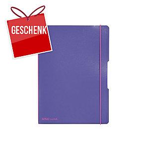 Herlitz my.book Flex Notizbuch PP A4 2 x 40 Blatt, lila
