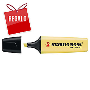 Marcador fluorescente Stabilo Boss - amarillo pastel