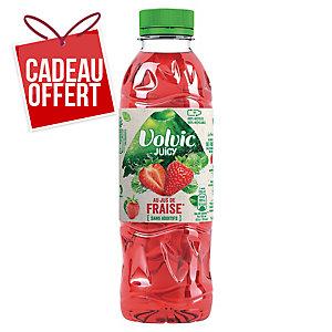 Eau Volvic Juicy fraise 50 cl - plateau de 24 bouteilles