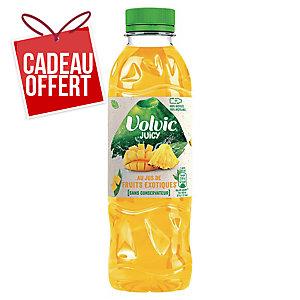 Eau Volvic Juicy fruits exotiques 50 cl - plateau de 24 bouteilles