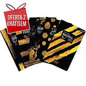 Zeszyt TOP2000 Blackie, A5, kratka, 96 kartek