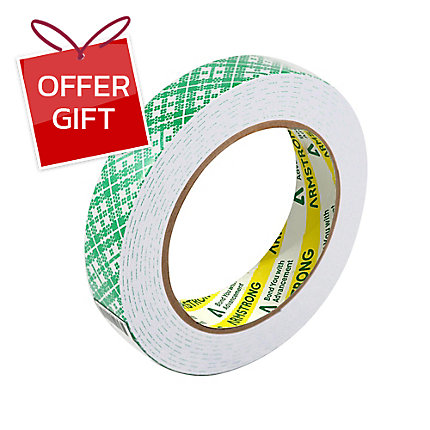 ARMSTRONG DOUBLE-SIDED FOAM TAPE 21MM X 3M 1 5MM THICK