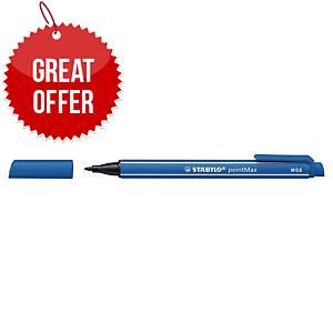 Stabilo 488 Pointmax Premium Fineliner 0.8 Blue