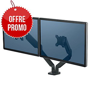 BRAS PORTE ECRAN DOUBLE PLATINUM SERIES FELLOWES