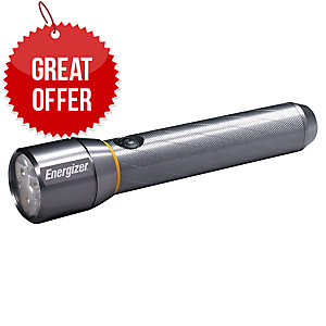 Energizer Torch Large Vision Metal Led - 6 Aa Incl - 1300 Lumens - 230 M - 6 H