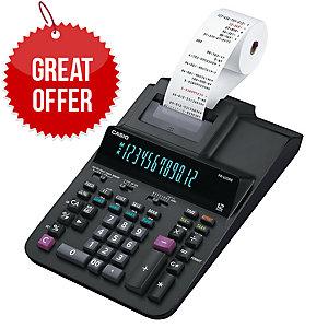 12-Digits Digitron-Display Printing Calculator, 2-colour printing.