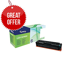 Lyreco HP CF401A Compatible Laser Cartridge - Cyan